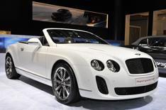 Bentley Supersports 'Ice Speed Record'