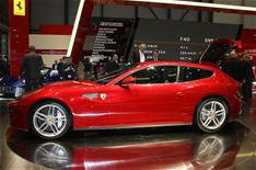 Long waiting list for Ferrari FF