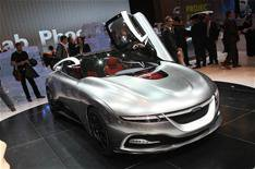 Saab's daring design starts with new 9-3