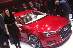 Audi A3 concept car