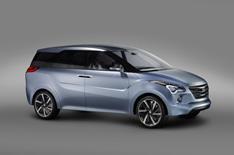 Hyundai Hexa Space concept car unveiled