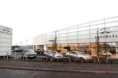 Infiniti opens Scottish dealership