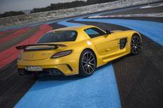 New Mercedes SLS AMG Black Series review