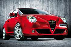 Alfa Mito let loose on the web