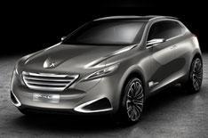 Peugeot SxC crossover concept revealed