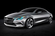 Mercedes Concept Style Coupe unveiled