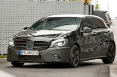 Mercedes A45 AMG unveiled