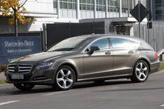 Mercedes CLS Shooting Brake details