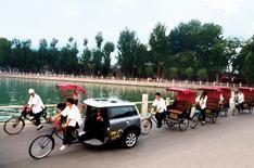 Mini rickshaw revealed!