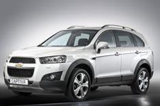 New Chevrolet Captiva revealed