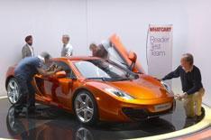 McLaren MP4-12C launched: The sales plan
