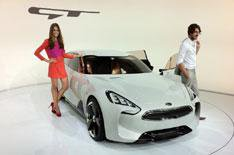 Kia GT shows sporty ambitions