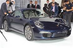 Porsche 911 at Frankfurt motor show 2011