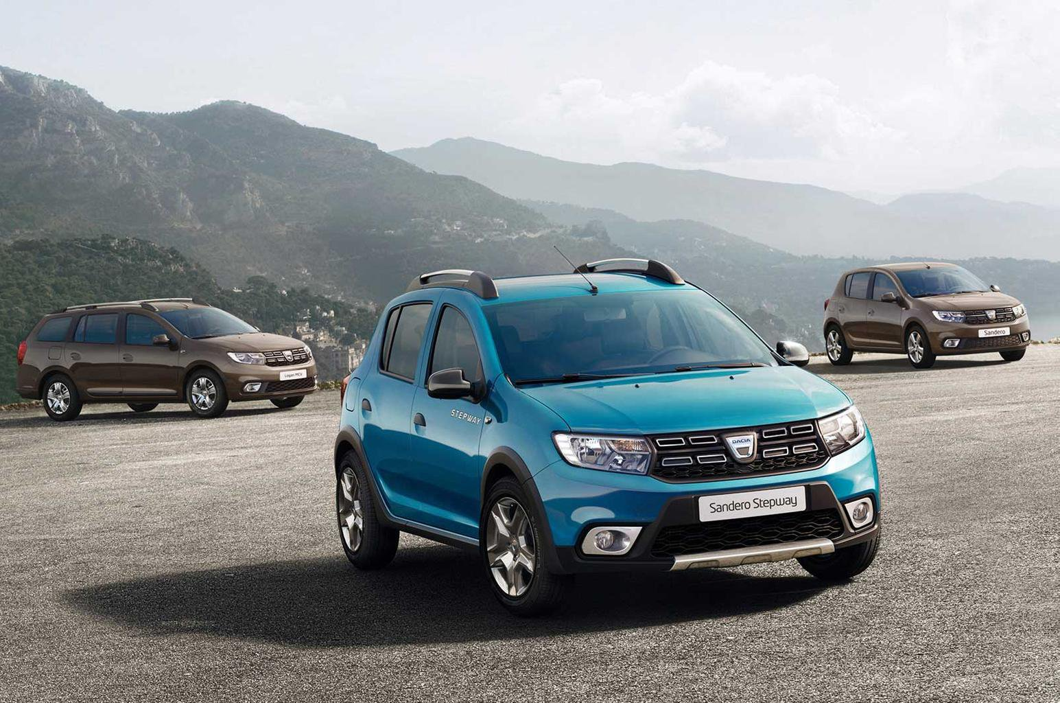 Facelifted Dacia Sandero, Sandero Stepway and Logan MCV prices announced