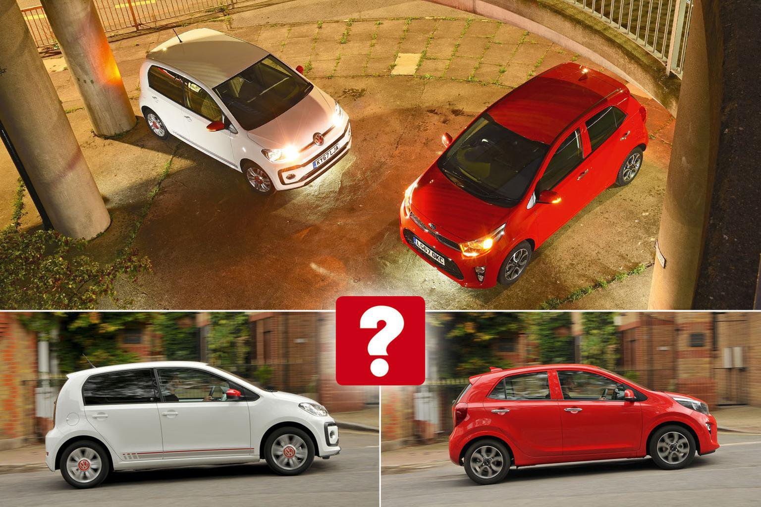 New Kia Picanto vs Volkswagen Up