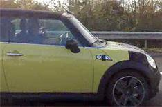 New Mini Convertible spied on video