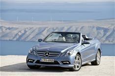 Mercedes-Benz E-Class Cabriolet revealed