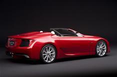 Lexus LF-A supercar for British show