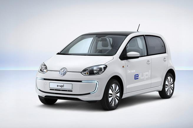 Electric Volkswagen e-Up revealed