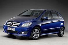 First images: revised Mercedes B-Class
