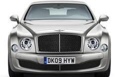 Bentley reveals new Mulsanne