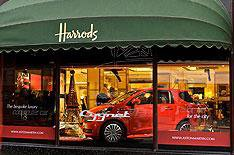 Harrods debut for Aston Martin Cygnet