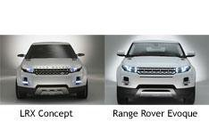 Range Rover Evoque concept to production