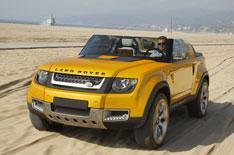 Land Rover DC100 Sport driven