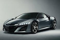 First pics of Honda NSX interior design