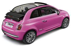 Fiat 500 Pink goes topless