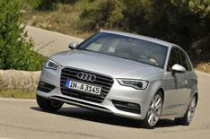 New Audi A3 vs Merc A-Class, Volvo V40