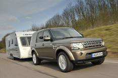 Land Rover Discovery is best towcar