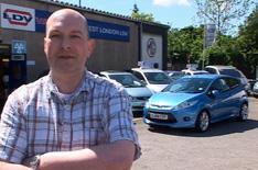 Citroen Ev'ie electric car on video