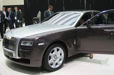 Frankfurt 2009: Rolls-Royce Ghost