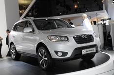 Frankfurt 2009: Hyundai Santa Fe