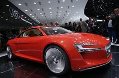 Frankfurt 2009: Audi e-tron
