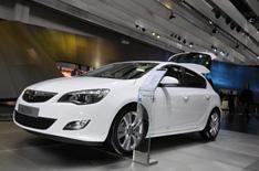Frankfurt 2009: Vauxhall Astra