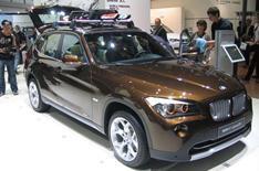 Frankfurt motor show 2009: BMW X1