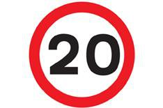 20mph zones on their way?