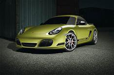 Porsche Cayman R on video