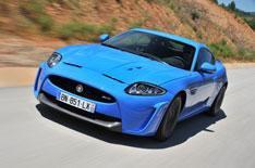 Jaguar XKR-S driven