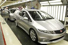 Honda restarts production at Swindon