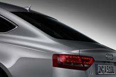 First glimpse of Audi A5 Sportback