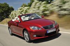 Lexus IS 250C driven