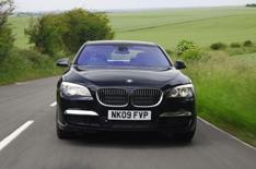 BMW 740d driven