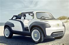 Citroen's eye-catching Paris concept car