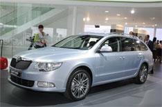 Frankfurt 2009: Skoda Superb estate