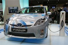 Frankfurt 2009: Toyota's plug-in Prius