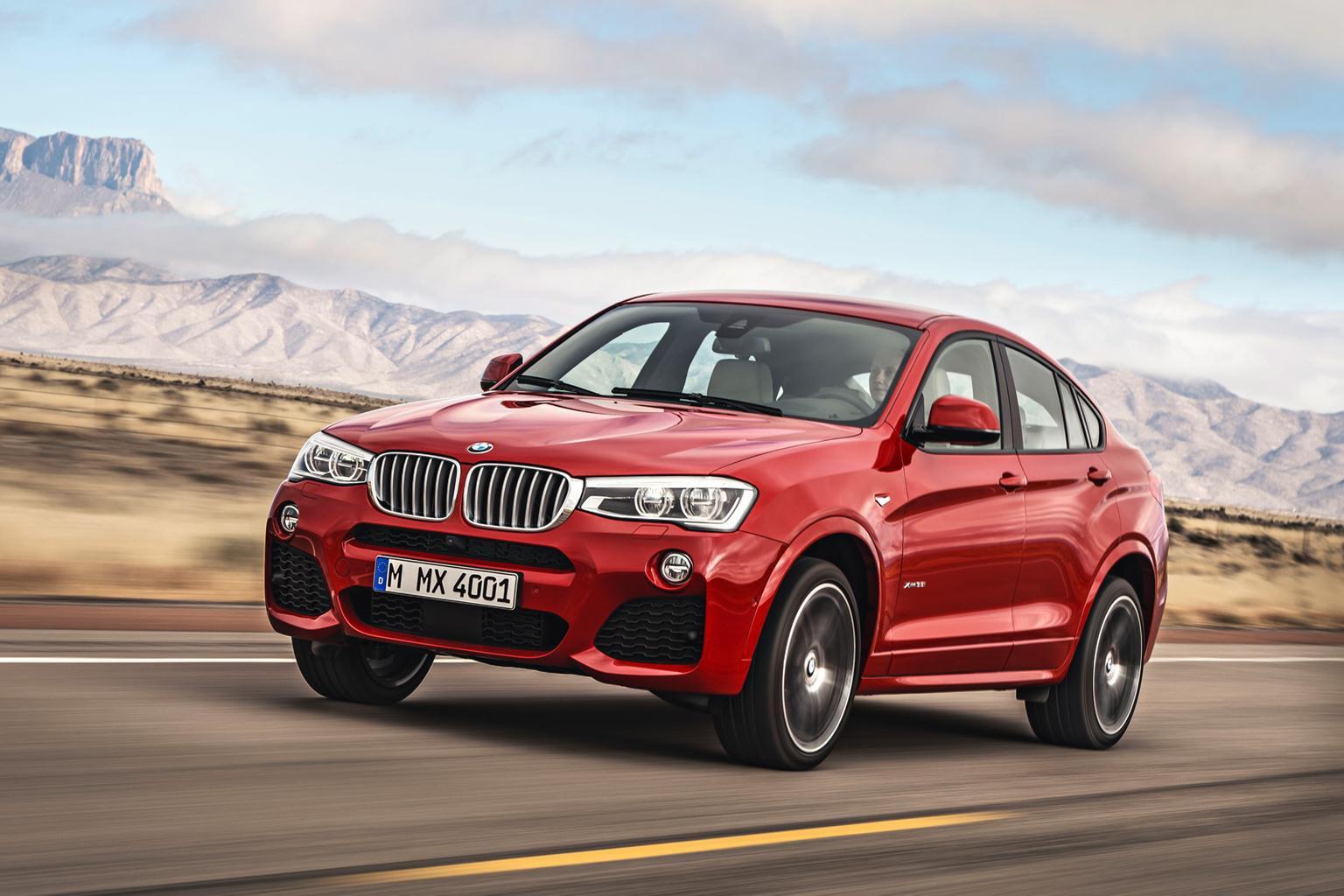 2014 BMW X4 revealed