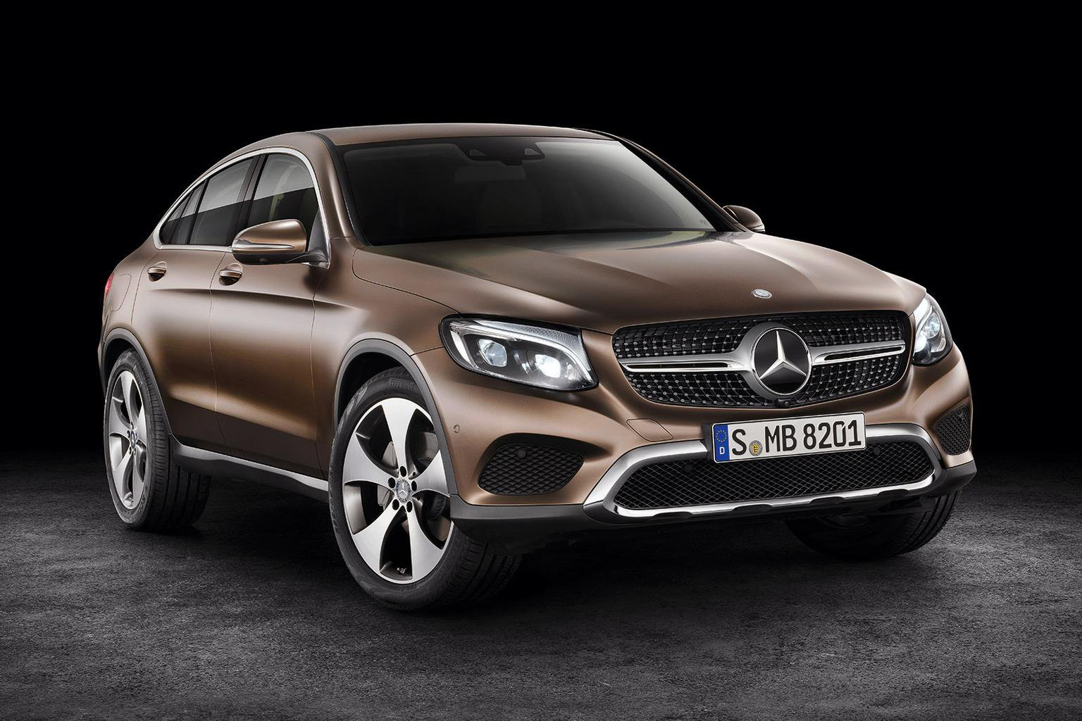 Mercedes-Benz GLC Coup unveiled